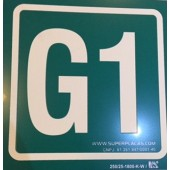 Placa G1  Fotoluminescente