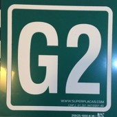 Placa G2  Fotoluminescente